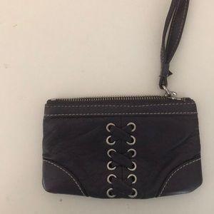 Purple Plum Wrist Wallet